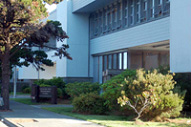 redwood park headquarters building in crescent city, ca